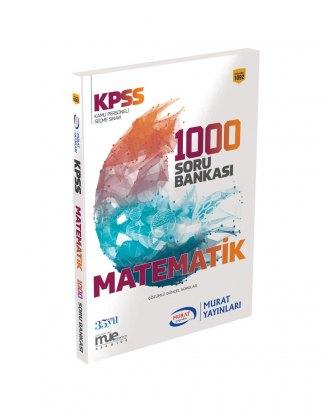 1092 Kpss Matematik 1000 Soru Bankası Murat Yayınları